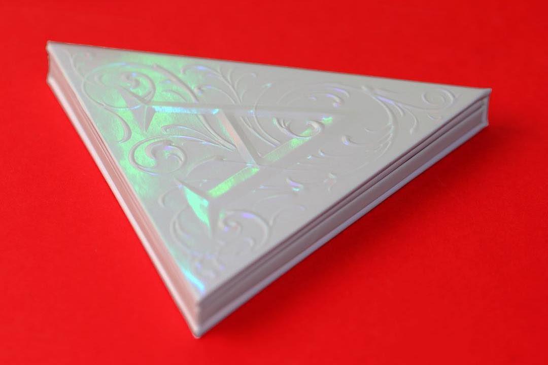 Kat Von D Alchemist Holographic Palette Swatches
