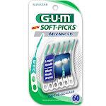 GUM Soft-Picks Advanced - 60 picks