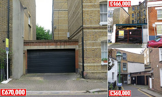 Most expensive garage in London goes for £670,000