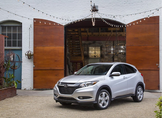 The Honda HR-V finally unveiled in Los Angeles