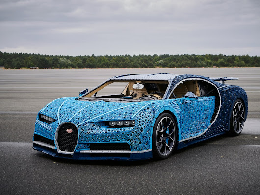 LEGO Builds a full-size, working, Bugatti Chiron - FBTB