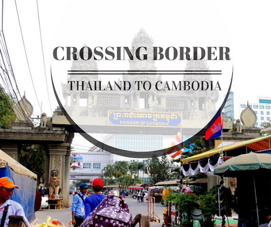 Crossing Border Thailand to Cambodia by Bus for Filipinos