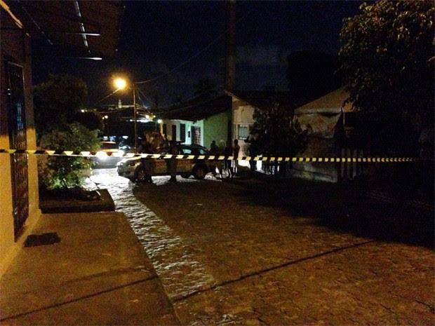 Pelo menos dois homicícios foram registrados neste final de semana em João Pessoa (Foto: Walter Paparazzo/G1)