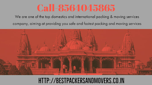 Which are the best packers and movers in Bhavnagar, Gujarat?