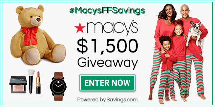 Friends & Family Sale @ Macy's + #MacysFFSavings $1,500 Giveaway!