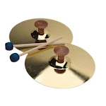Hohner Hohs3800 5 Cymbals With Mallet Pair