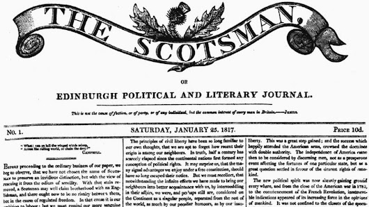The Scotsman marks 200th anniversary with special edition - BBC News