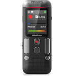Philips DVT2710 Digital Voice Recorder - 8 GB - up to 12 hrs - PCM Recording - Chrome/Anthracite