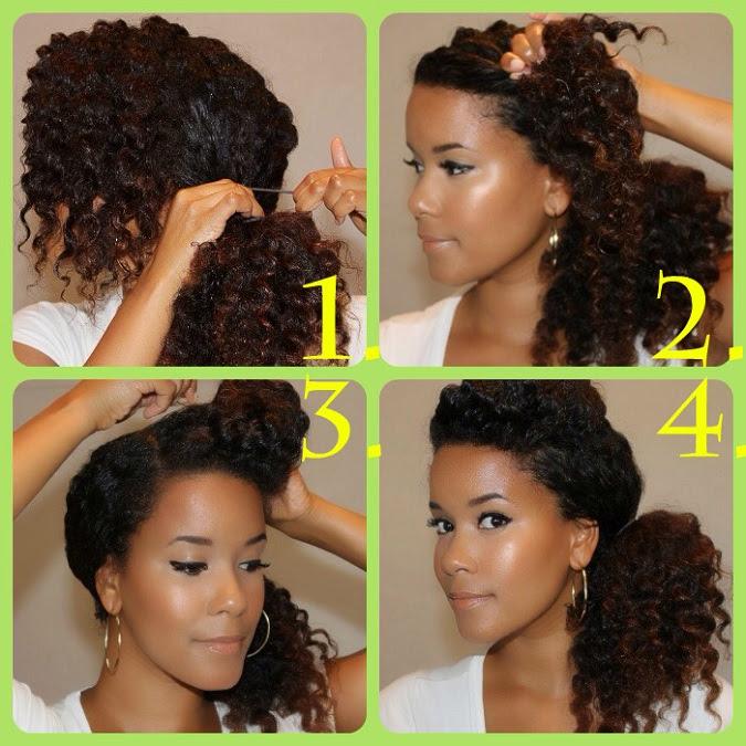 9 Tutorial per Acconciature Capelli fai da te per ogni Occasione  - pettinature capelli ricci fai da te
