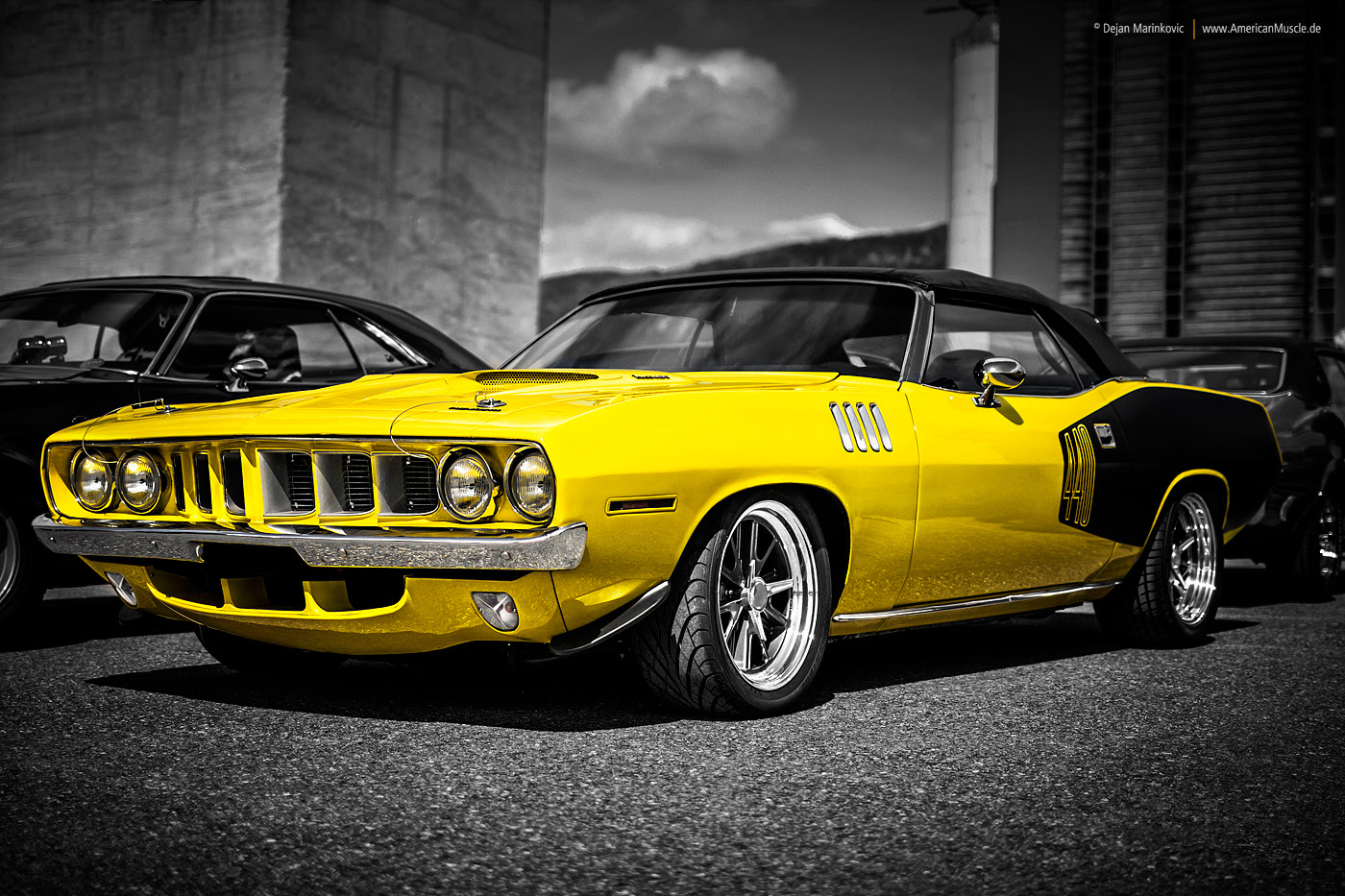 1971 Plymouth 'Cuda by AmericanMuscle on DeviantArt