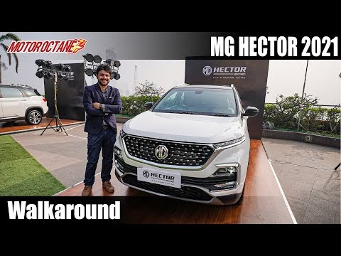 New MG Hector Walkaround - Most Detailed Video