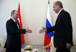 Guarda la versione ingrandita di Russia e Turchia, nuovo asse sulla Siria