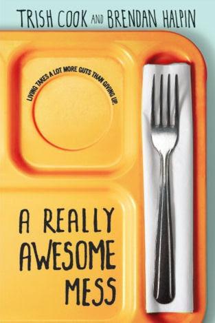 http://www.amazon.com/Really-Awesome-Mess-Trish-Cook-ebook/dp/B00B6OV8ZA/ref=sr_1_1?ie=UTF8&qid=1402679617&sr=8-1&keywords=a+really+awesome+mess