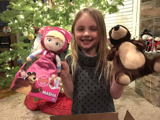 Check out these adorable Masha and the Bear Toys - A Sparkle of Genius
