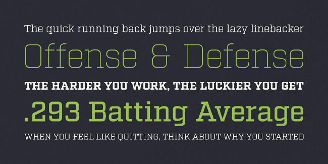 factoria 23 of the most beautiful typefaces from September 2014
