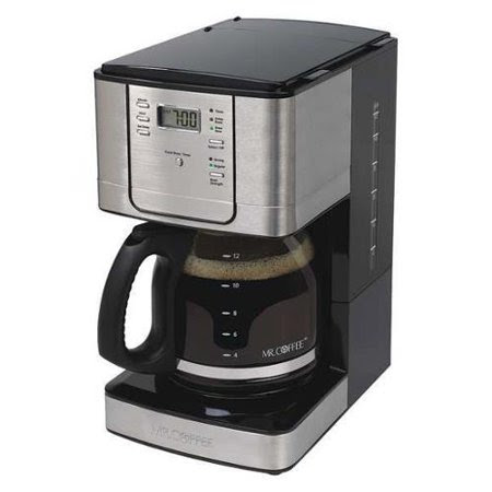 Programmable Coffee Maker, Silver, Mr. Coffee, JWX31-NP