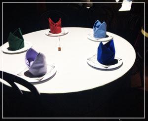 テーブルの上で魔法が踊る、プロジェクションマッピング脱出。