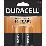 Duracell Coppertop C Alkaline Batteries 1.5 Volt 2 Each - 1 Pack
