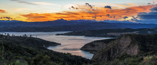 Sunset Over Castaic | In The Viewfinder