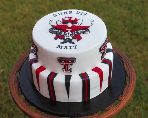 Texas Tech Cake   CakeCentral.com