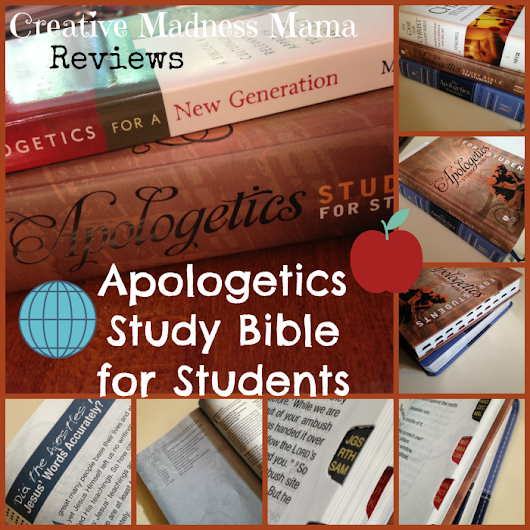 Apologetics Study Bible for Students {Review & Giveaway} - www.CreativeMadnessMama.com