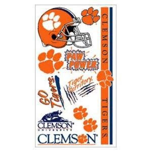 Clemson Tattoos on Clemson Tattoo  Clemson Tigers Tattoo  Clemson Tattoos  Clemson Tigers