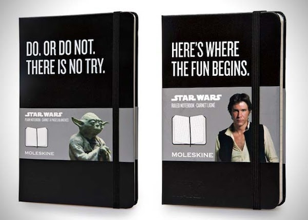 Awesome Star Wars Moleskines Are Awesome Whatleydude