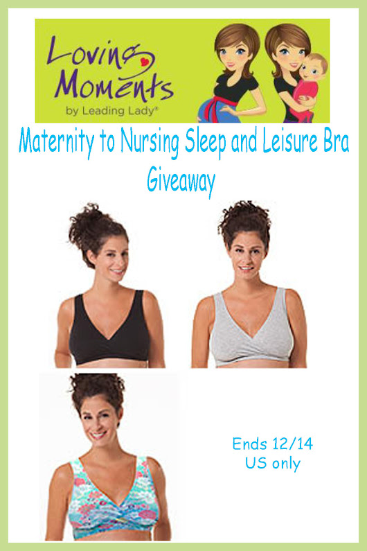 Leading Lady Loving Moments Maternity to Nursing Sleep and Leisure Bra