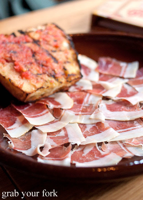 jamon serrano at movida sydney