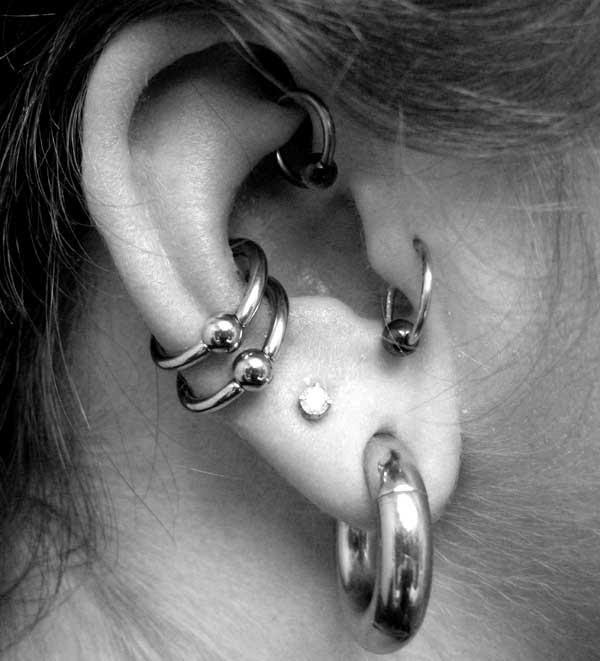 Conch Piercing Facts Precautions Aftercare Pictures Body