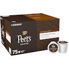 Peet's Coffee Major Dickanson's Dark Blend Coffee Keurig K-Cups, Dark Roast - 75 count