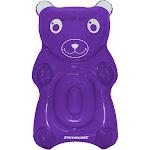 Swimline 90745 Gummybear Float Inflatable Vinyl Pool Lounger w/ Headrest, Purple
