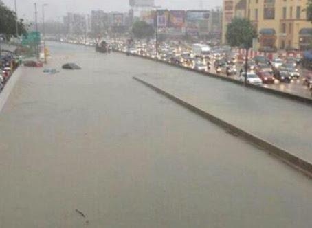 banjir puchong ioi mall