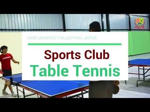 Table Tennis Court | Nims Sports Club Jaipur