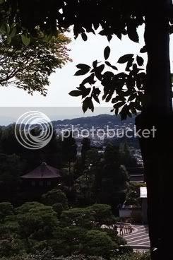 Vistes des de Ginkakuji