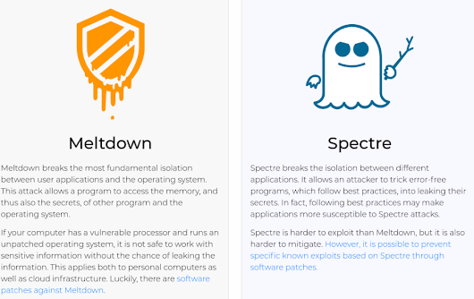 Meltdown and Spectre, the chip flaws causing problems for nearly everyone - CyberScoop