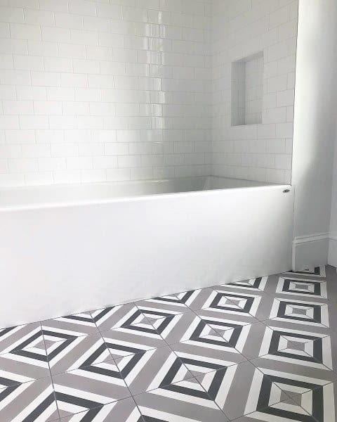 Home Architec Ideas Bathroom Floor Tiles Design Pattern