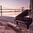Mystery of piano abandoned under New York's Brooklyn Bridge