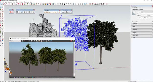 Rendering with V-ray Proxies in SketchUp | Sketchup Tutorial