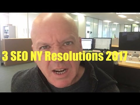 3 SEO New Year Resolutions