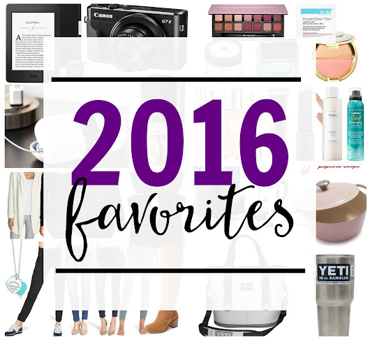 My 2016 Favorites - Cookies and Cups