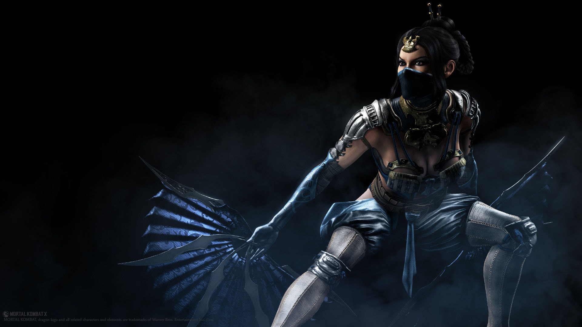 Kitana From The Mortal Kombat Series