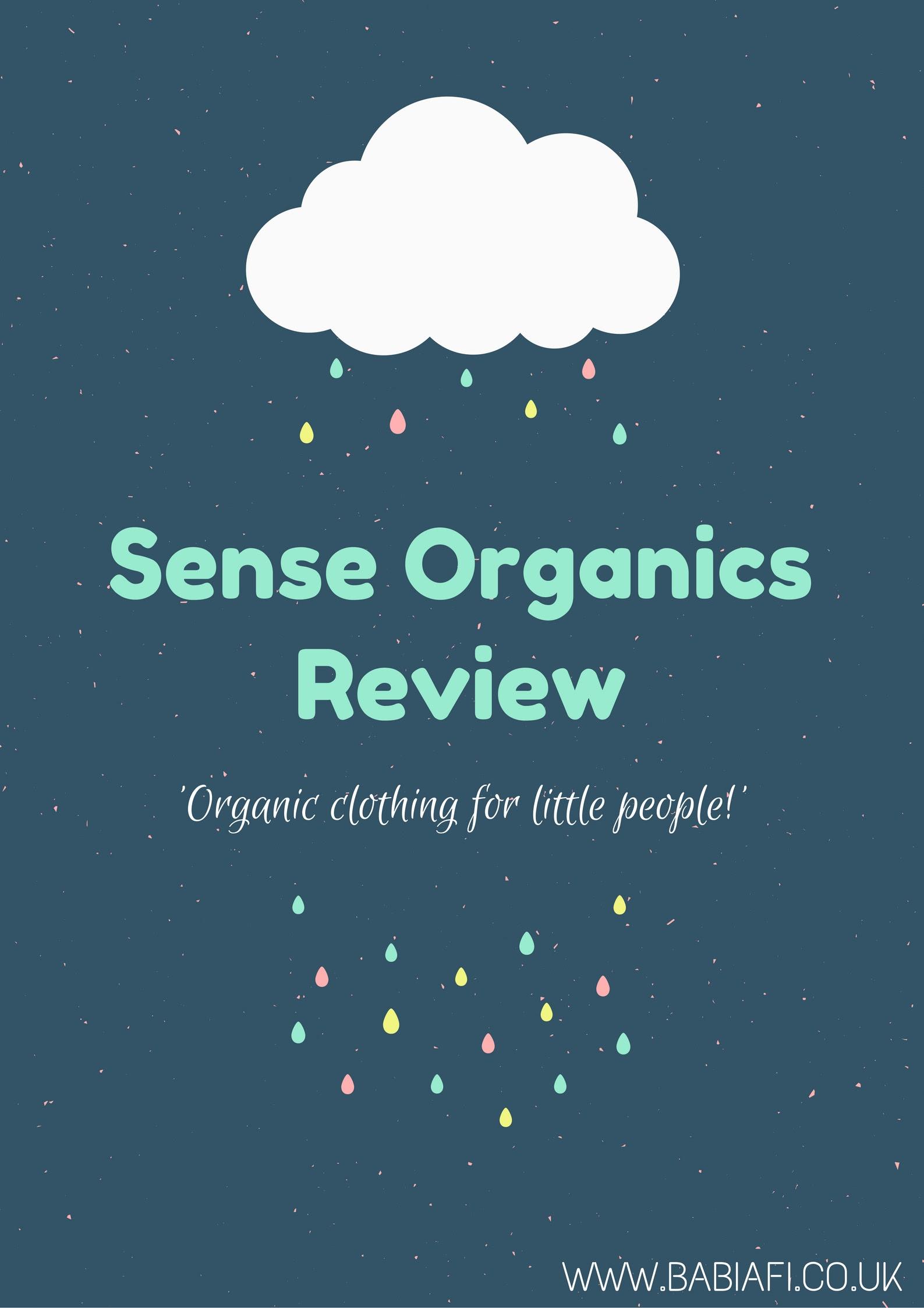 Sense Organics Review