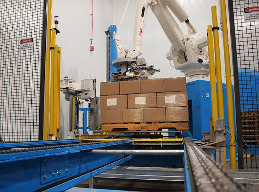 The Benefits Of The Robotic Automatic Palletizer Machines