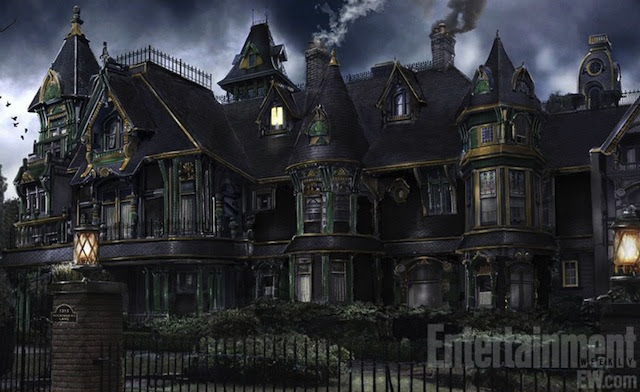 Click here to read First image from <em>The Munsters</em> remake <em>Mockingbird Lane</em> is gothic architectural eye candy