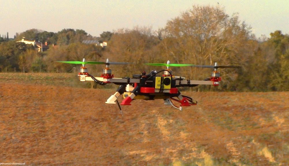 El uso de los drones en agricultura