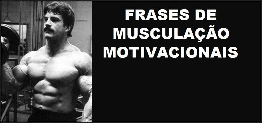Frases De Motivação Para Musculação Frases E Mensagens Em