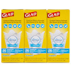 Glad OdorShield + Febreze Trash Bag - 6 boxes, 26 count each