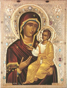 Orthodox icon Theotokos Iverskaya