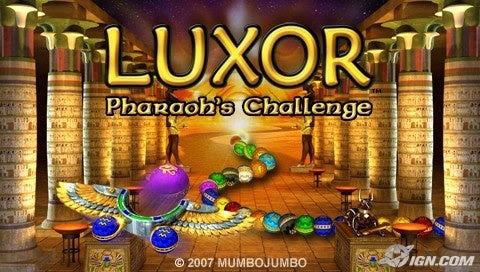 Luxor: Pharaoh's Challenge  (PSP)